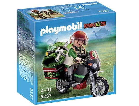 Jeu de construction PLAYMOBIL (2013)  5237 - Explorateur et moto