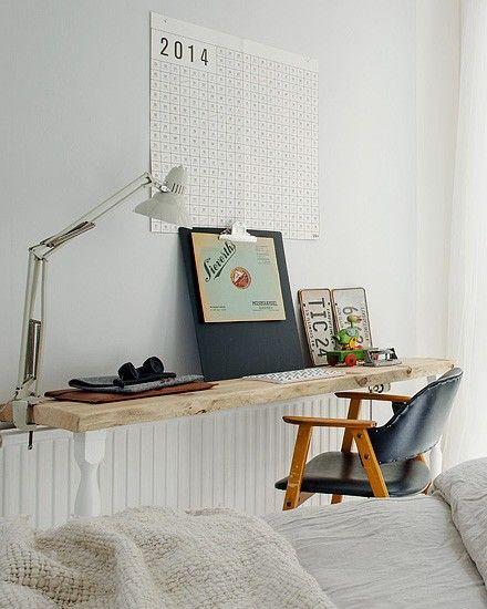 17 beste idee n over kleine werkkamer op pinterest kleine ruimte op uw bureau kleine - Deco klein appartement ...