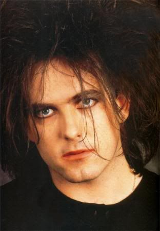 "Robert Smith---I call him ""my brother""--kinda looks like me :) Love his music!"