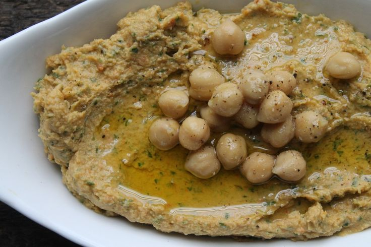 Make Your Own Hummus; Sun-Dried Tomato & Basil Hummus Recipe - Health Is Happiness. Made this tonight for a party and got compliments. Definitely worth a try - NF