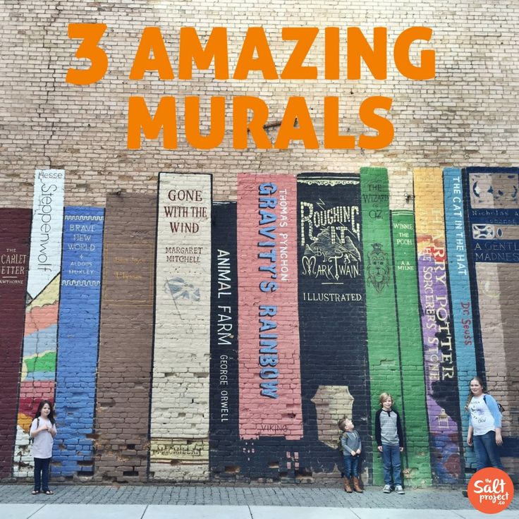 3 Amazing Murals in Salt Lake City | The Salt Project | Things to do in Utah with kids
