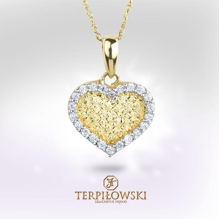 Pomysły na Walentynki. Valentine's Day. www.terpilowski.com.pl #walentynki #zloto #bizuteria #jewelery #valentines