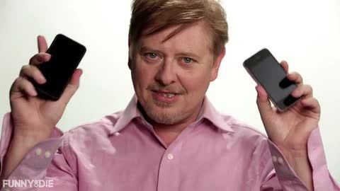 BlackBerry's last employee introduces his company's latest (and last) device.