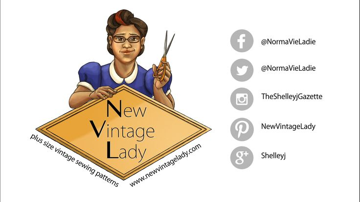 Redid some things and relaunched. Let's do this! #newvintagelady #plussizefashion #vintage #yaysewing