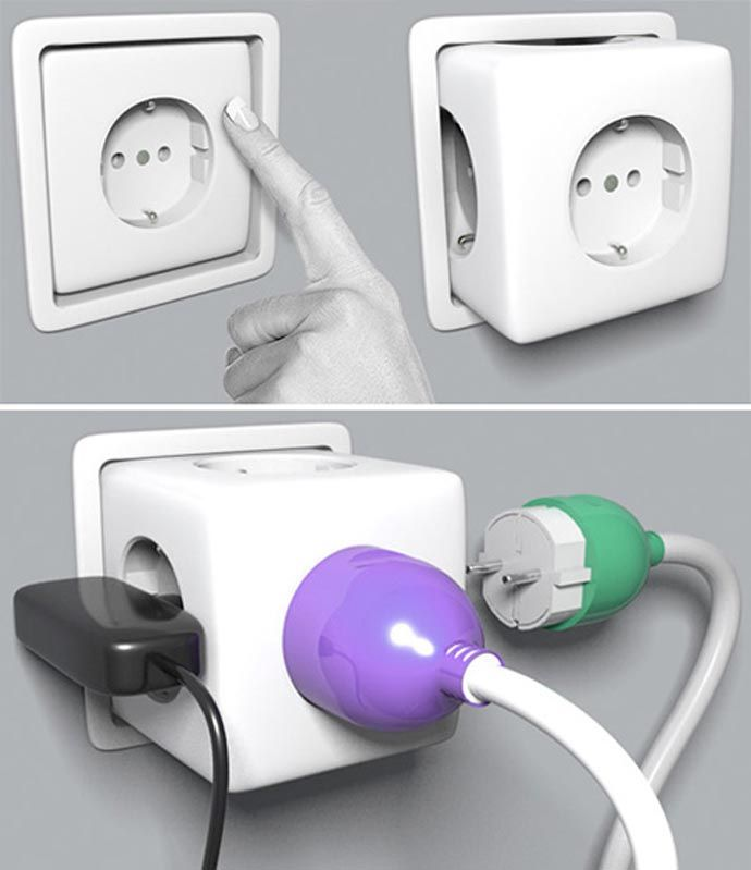 Electrical Home Design Ideas: 12 Best Sockets/Plugs :- Images On Pinterest