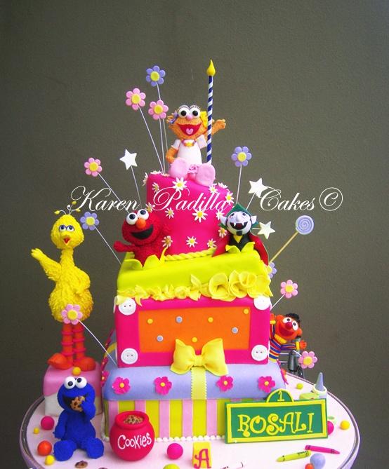 Sesame Street Cake  LOVE!!: