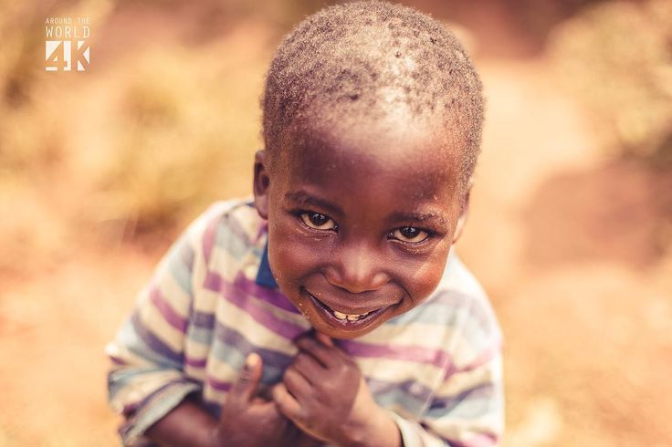 The children of Uganda have an unaltered view of life.