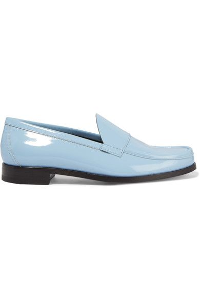 Pierre Hardy Hardy patent leather loafers