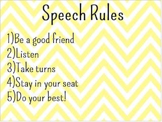 10 best Speech Room Rules images on Pinterest | Speech ...