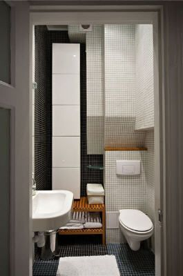 Ultra compact bathroom