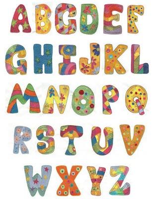 A good alphabet for applique