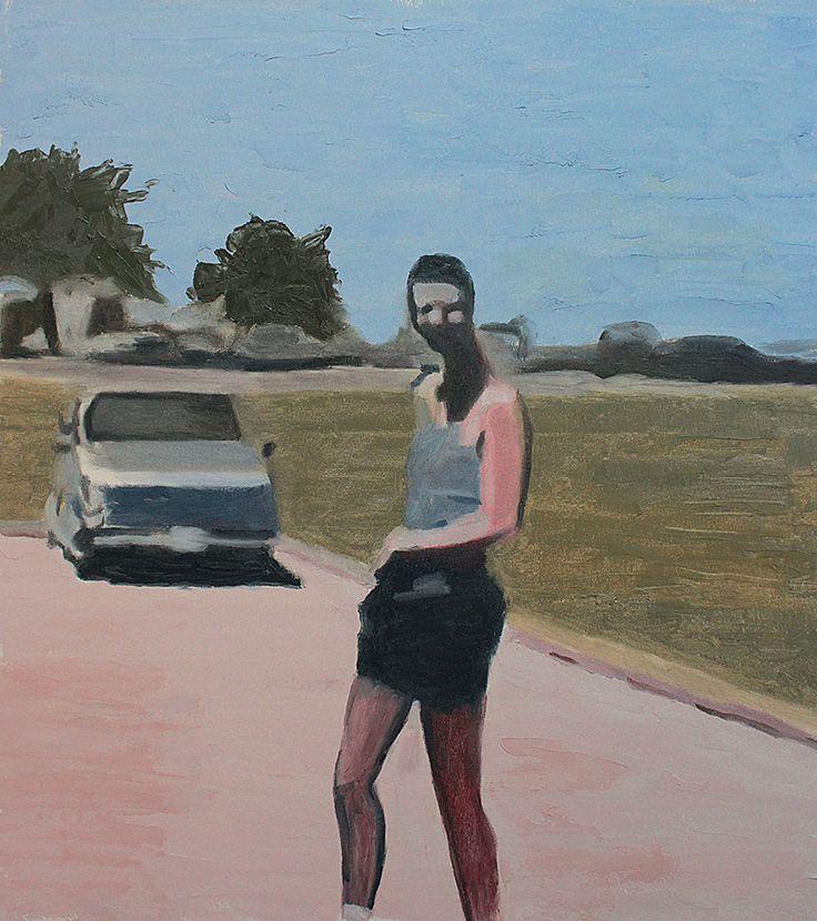 Antonio Lee Oil on canvas. 56cm x 49cm