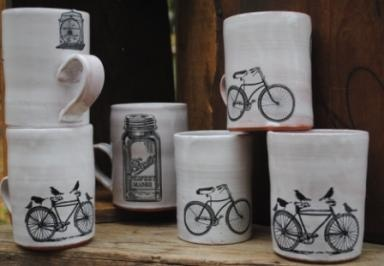Statement-making pieces from nelle design.: Future Houses, Bike, Birds Originals, Gifts Ideas, Houses Warm Gifts, Handmade Thrown, Nell Design, Housewarming Gifts, House Warming Gifts