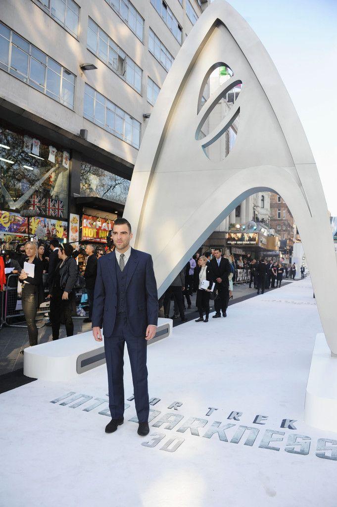 Zachary Quinto - 'Star Trek Into Darkness' Premieres in London 6