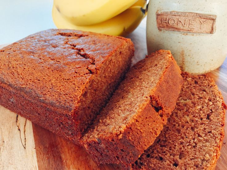 Healthier Banana and Honey Bread (df, vegan & gf options)