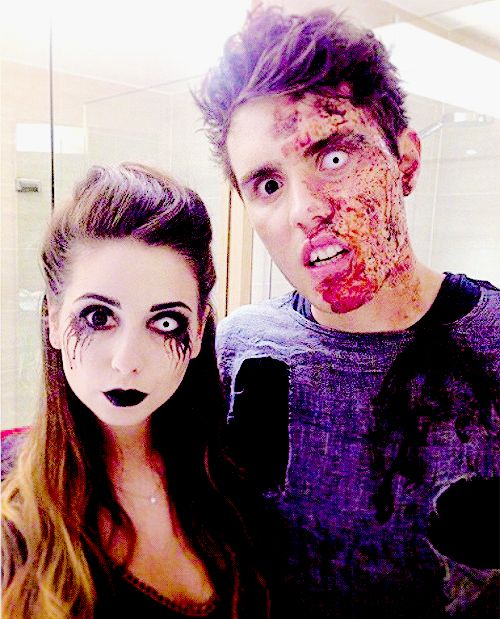 Zoe & Alfie { Zoella & Pointlessblog } they are the best