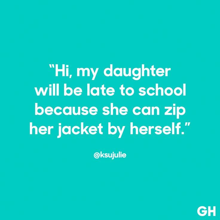 I Can Do It Myself - Read more funny parenting quotes at GoodHousekeeping.com