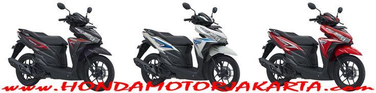 3 Pilihan Warna Honda Vario 150 eSP Sporty FI - Titanium Black, Sonic White dan Bionic Red. Yang semakin trendy dan menunjukkan karakter pengendaranya.