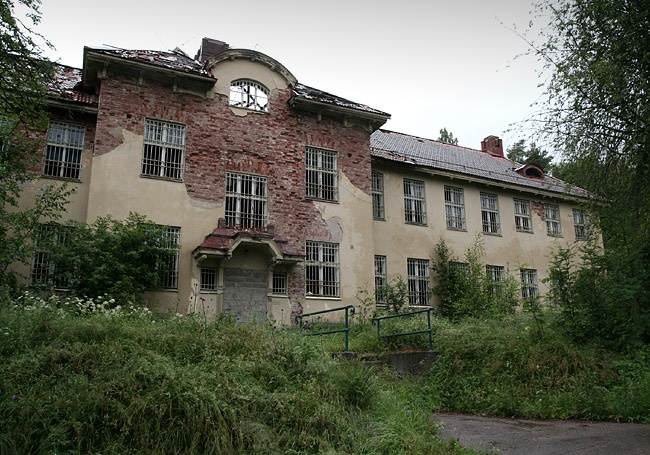 Säters mental hospital Sweden