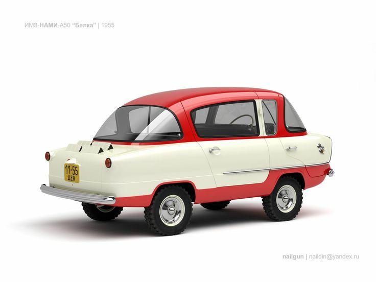 1956 Nami-450 Belka.Classic Micro Car Art&Design @classic_car_art #ClassicCarArtDesign