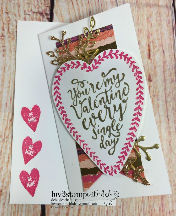 52 best Valentines projects - Stampin Up images on Pinterest ...