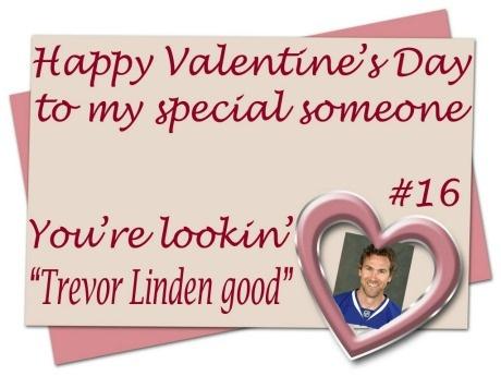 Trevor Linden good Ha Ha