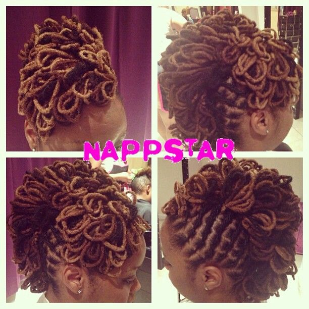Loc Petal Mohawk Diy Hair Edition Locs Natural Hair