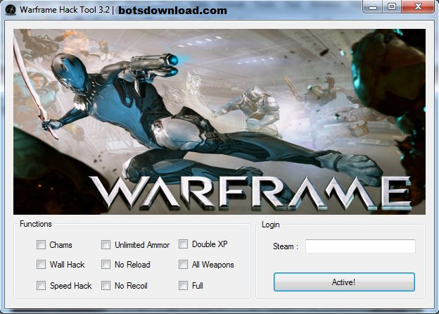 New Warframe HACK download updated. Warframe HACK 2016 download tool. Free download of Warframe HACK.