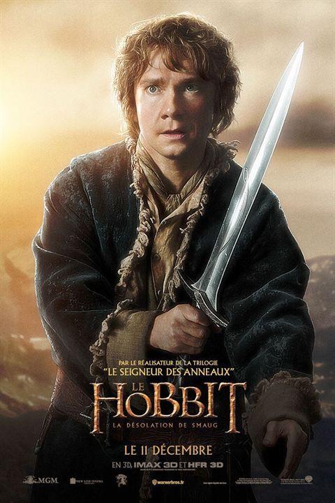 Le Hobbit : la Désolation de Smaug : Affiche                                                                                                                                                                                 Plus