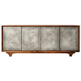 Sterling Media Cabinet  Rustic  Folk, Industrial, MidCentury  Modern, Metal, Resin  Composite, Media Consoles  Media Cabinet by Wud Furniture Design