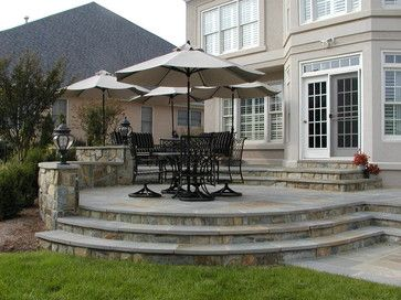 Decks And Patios Traditional Patio On Side Of House For