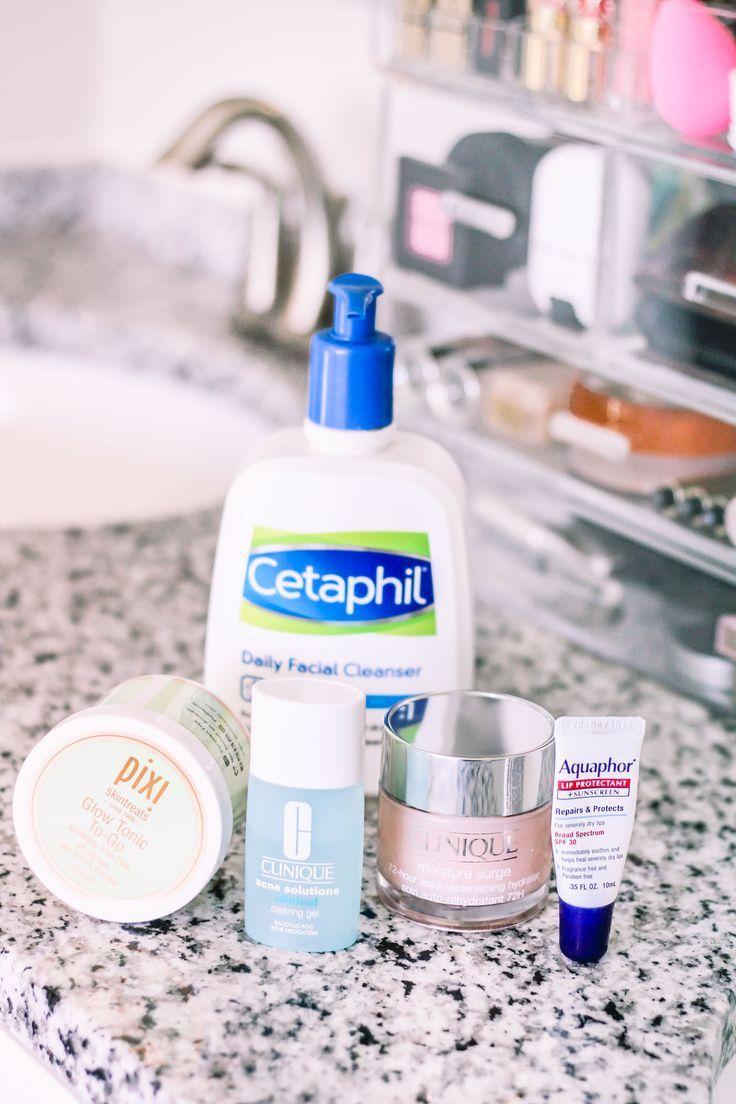 My Current Skincare Routine Skin Care Acne Skin Skin Care Routine