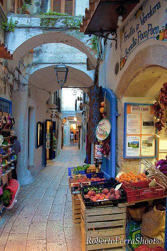 Sperlonga, Italy - has the unique feel of a charming Greek village