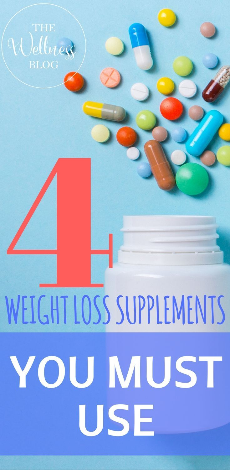 THE WELLNESS BLOG 4 WEIGHT LOSS SUPPLEMENTS YOU MUST USE #weightloss #diet #health