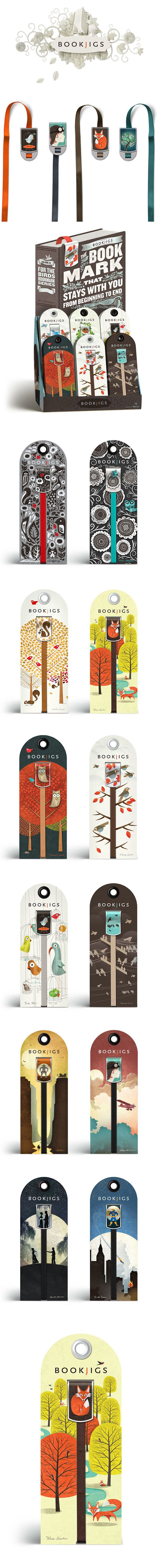 Bookjigs Initial #Branding & #Packaging. By: Russ Grey