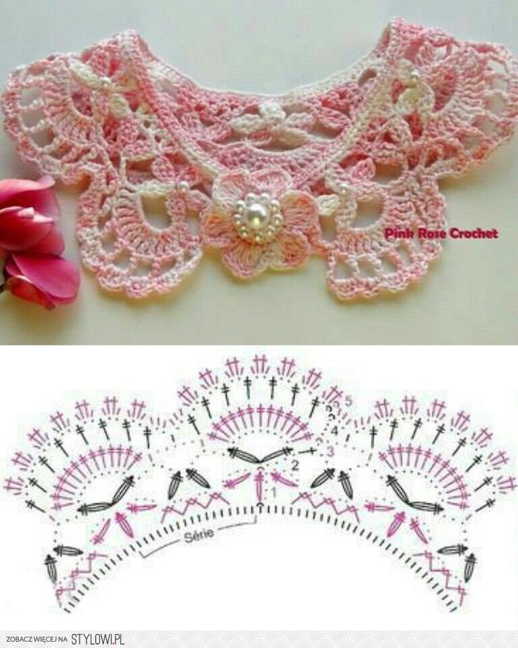 Crochet Lace Collar - So Romantic and Girly