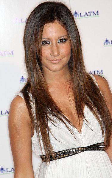 Ashley Tisdale brown / brunette hair