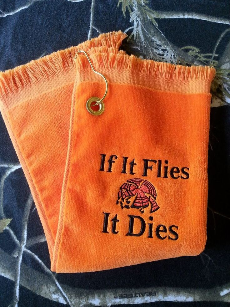 Skeet Trap Sporting Clays Shooter Shooting Towel Orange #Orange                                                                                                                                                                                 More
