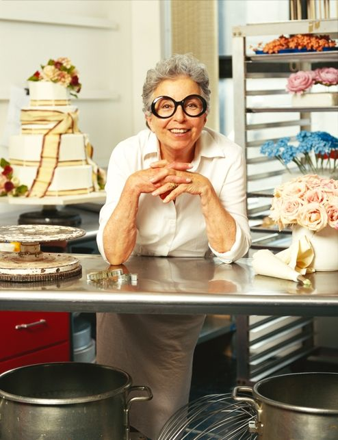 Sylvia Weinstock.