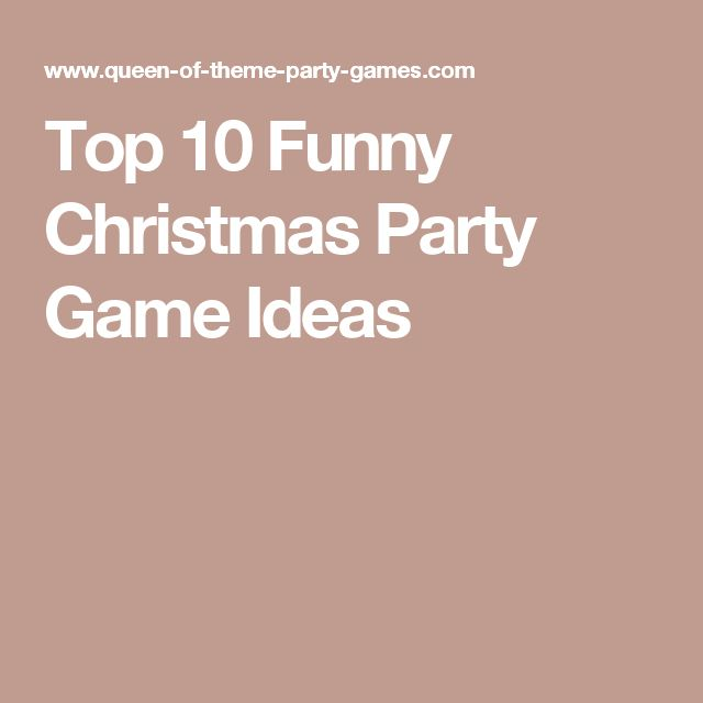 The 25+ best Office christmas party games ideas on Pinterest ...