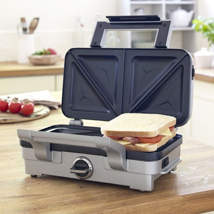 Cuisinart Overstuffed Non Stick Toasted Sandwich Maker #cuisinart #nonstick #toasted #sandwich #maker