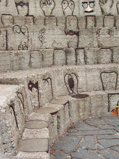 """armand pierre fernandez"" - parco Sempione #milano"