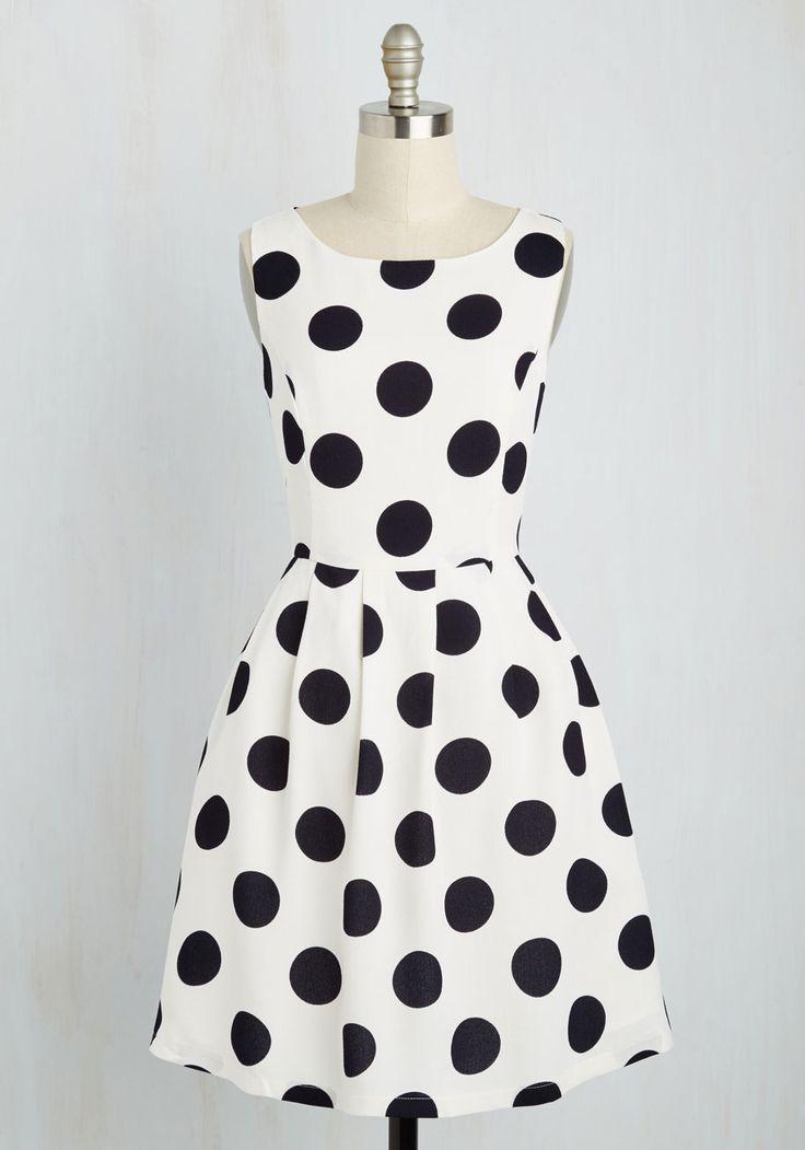 Give It Your Best Spot Dress, @ModCloth