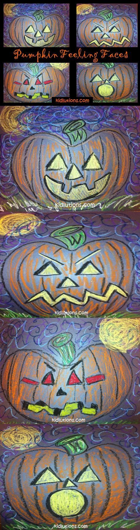Pumpkins and Feelings-perfect to stay festive and teach feelings to my halloween loving students!