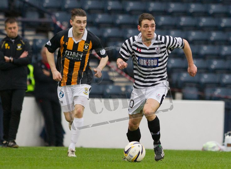 Queen's Park's Shaun Fraser on the ball during the SPFL League Two game between Queen's Park and East Fife