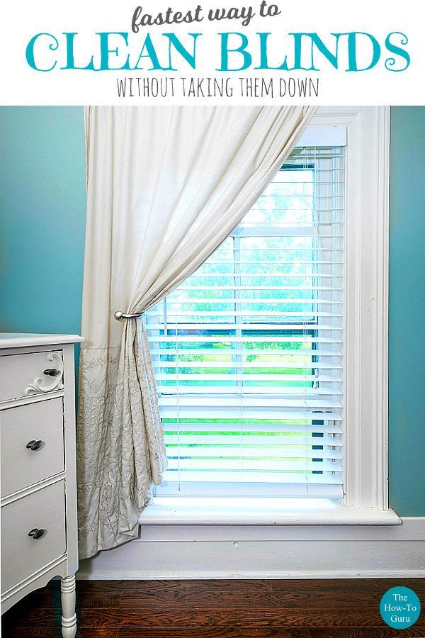 Best Way To Clean Blinds Fast Easy Without Taking Them Down Howtocleanblinds Cleanhacks Cleaningtips Thehowtoguru