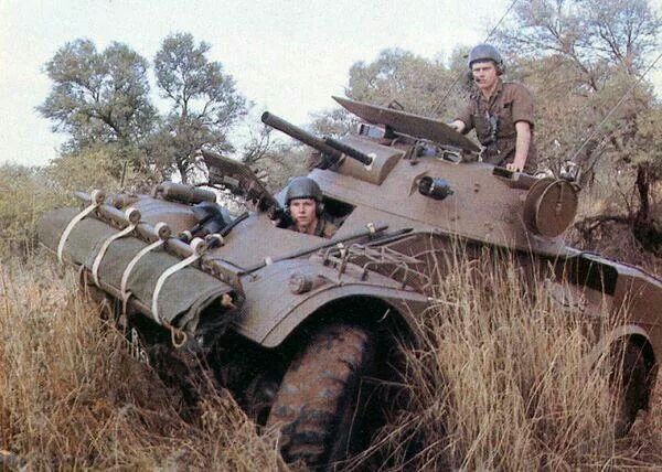 Eland 60 South African Armoured Car. #AfricaIndustrializationDay