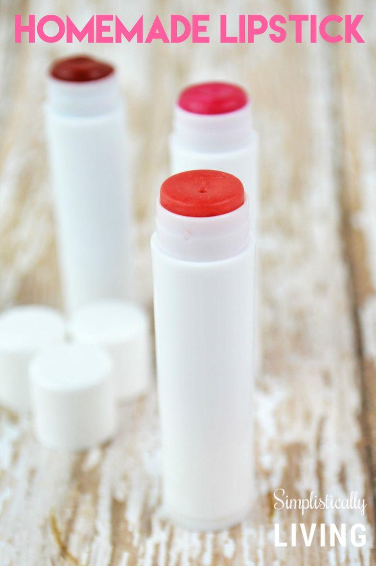 Homemade lipstick - I had no idea it was so easy!