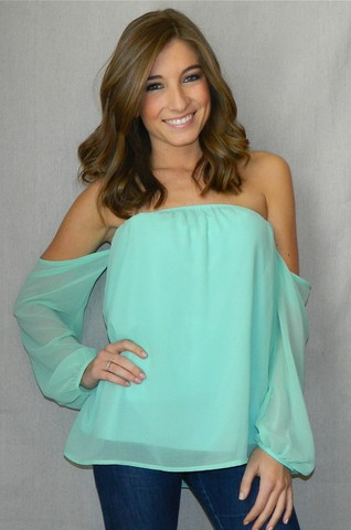 Love Struck Blouse | Girly Girl Boutique