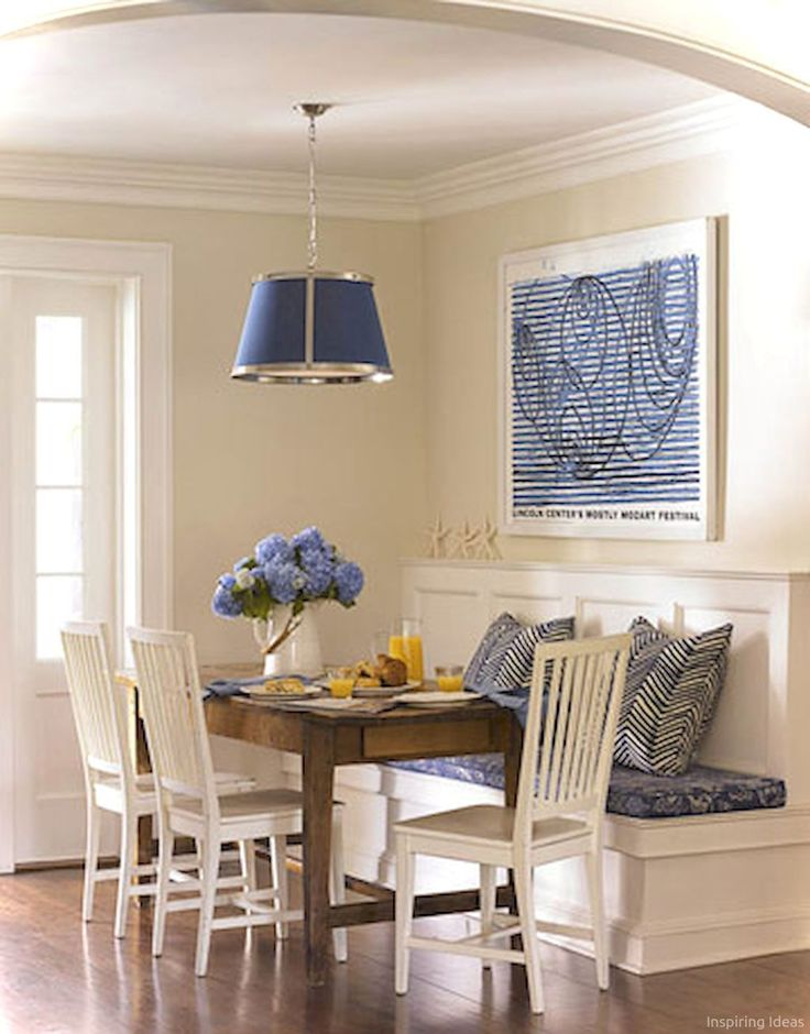19 Nice Banquette Sitting Ideas for Kitchen